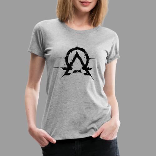 OA emblem black - Premium T-skjorte for kvinner
