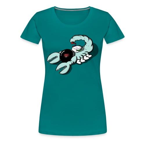 Space Scorpions?! (Colour) - Women's Premium T-Shirt