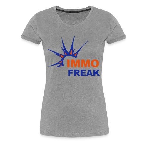 IMMO FREAK - Frauen Premium T-Shirt