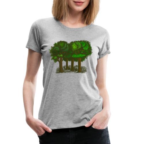 Bäume - Frauen Premium T-Shirt