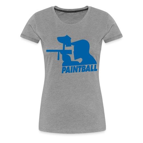 Paintball - Frauen Premium T-Shirt