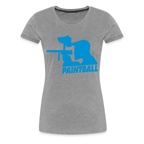 Paintball - Frauen Premium T-Shirt