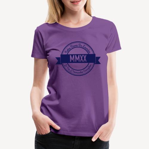 LOURDES MMXX - Women's Premium T-Shirt