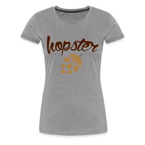 Hopster (Biertrinker) - Frauen Premium T-Shirt