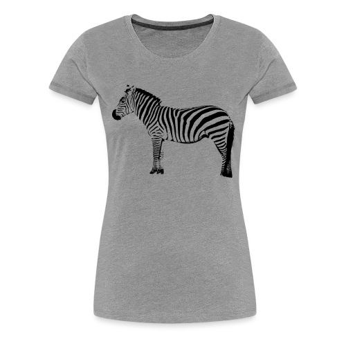 Premium Hoodie Woman | I am a freaking ZEBRA - Women's Premium T-Shirt