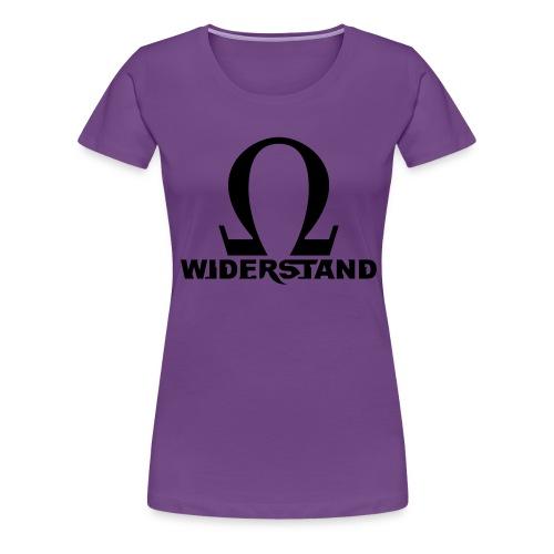 Rebellion der Roboter - Frauen Premium T-Shirt