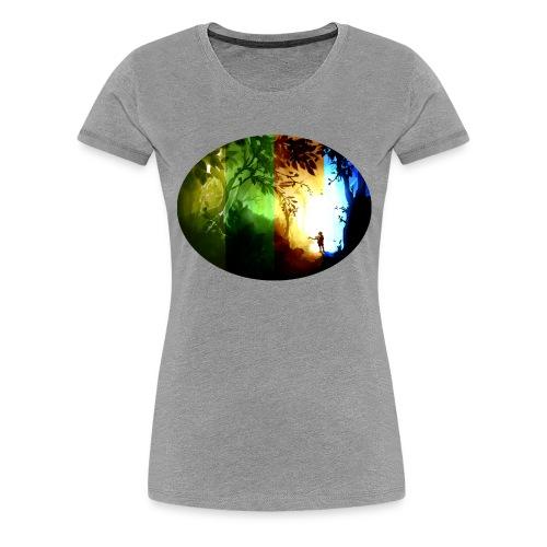 Seasons Passing - Women's Premium T-Shirt
