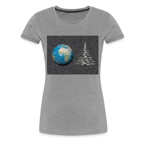 world_christmas3 - T-shirt Premium Femme