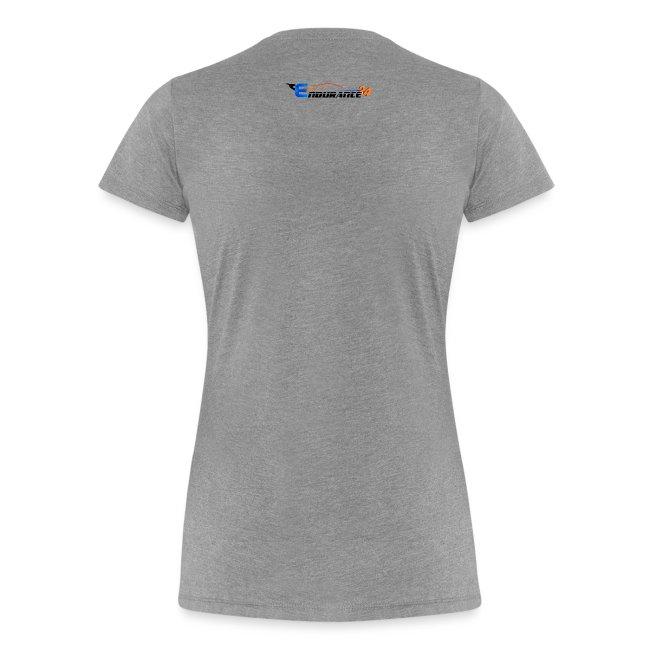"T-Shirt Premium Femme ""Endurance Tracks"""