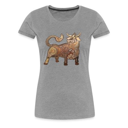 Stier - Frauen Premium T-Shirt