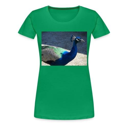 Riikinkukko - Naisten premium t-paita
