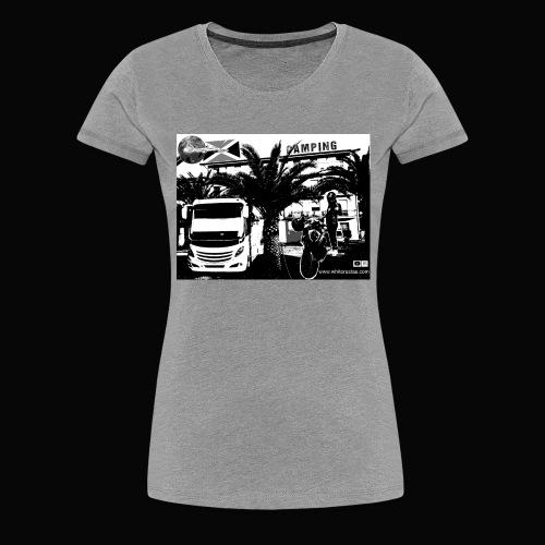 White Rastas Fan Artikel - Frauen Premium T-Shirt