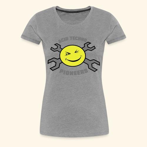 ACID TECHNO PIONEERS - SILVER EDITION - Women's Premium T-Shirt