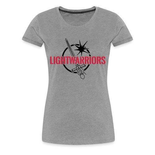 Lightwarriors Logo - Frauen Premium T-Shirt