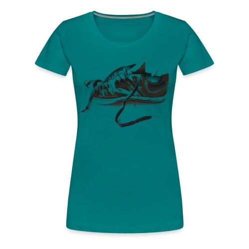 shoe (Saw) - Women's Premium T-Shirt