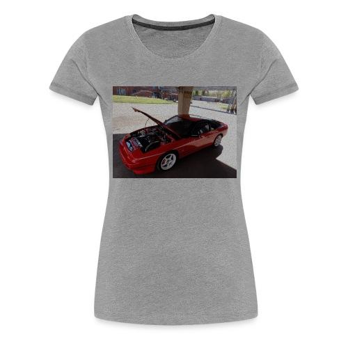 s13 - Naisten premium t-paita