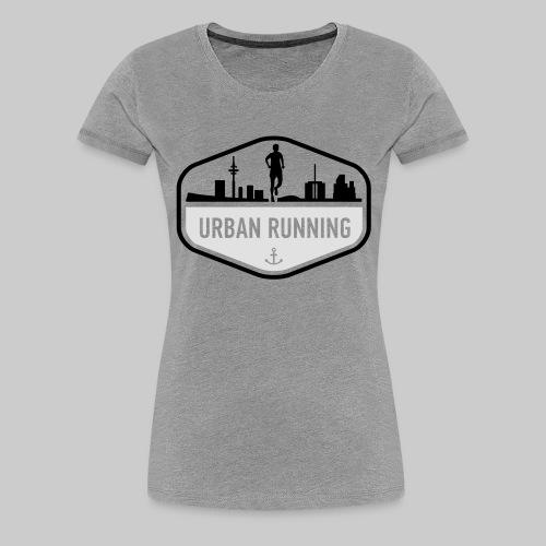 UrbanRunningLogo - Frauen Premium T-Shirt