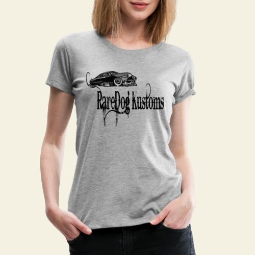 rd kustoms typed - Dame premium T-shirt