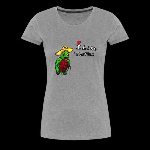 turtle - Frauen Premium T-Shirt