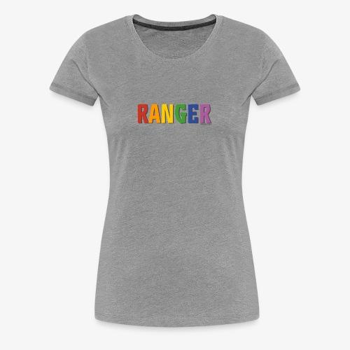 Ranger Pride (Rainbow) - Women's Premium T-Shirt