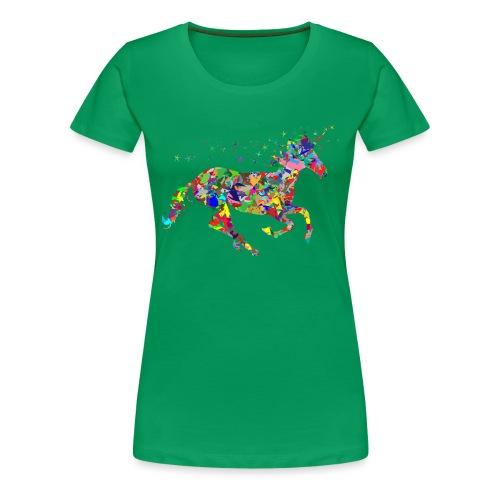 Einhorn - Frauen Premium T-Shirt