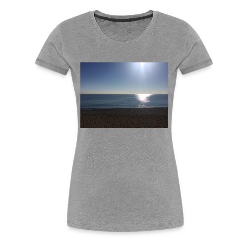 Sonne,Meer,Strand,Freiheit,Geschenk,Geschenkidee - Frauen Premium T-Shirt