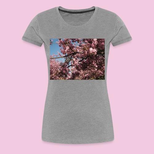 Kirschblüten - Frauen Premium T-Shirt