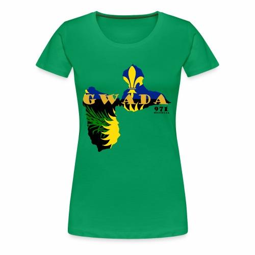 GWADA 971 OFFICIAL - T-shirt Premium Femme