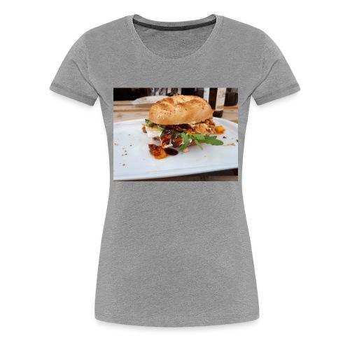 Bagel Chicken Burger - Frauen Premium T-Shirt