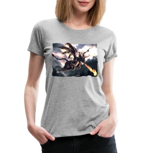 Canis Draconi Terrier - Fireball - Vrouwen Premium T-shirt