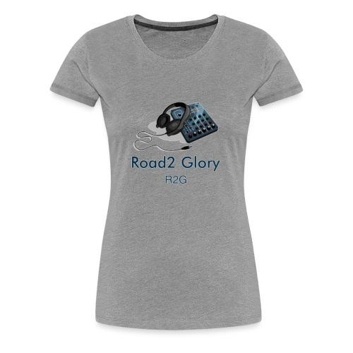 Road2 Glory Logo - Women's Premium T-Shirt