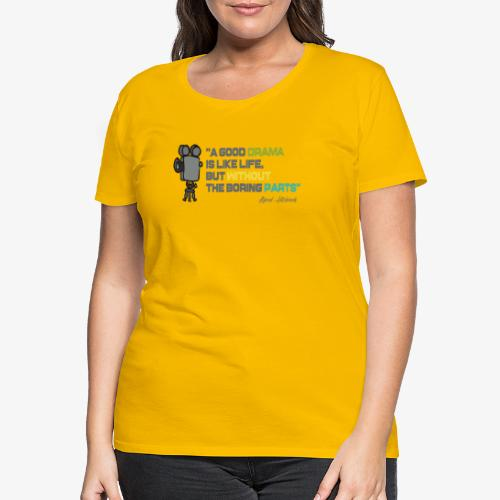 Pasión por el cine - Camiseta premium mujer