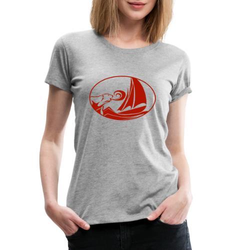 blauwassersegeln.at - Frauen Premium T-Shirt