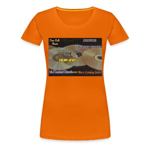 Enemy_Vevo_Picture - Women's Premium T-Shirt