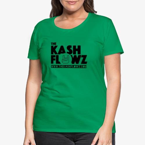 The Kash Flowz Official Web Site Black - T-shirt Premium Femme