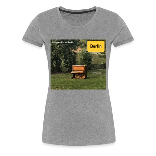 lonely Piano - Frauen Premium T-Shirt
