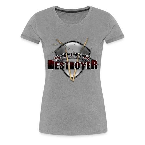 Stick Destroyer - Women's Premium T-Shirt