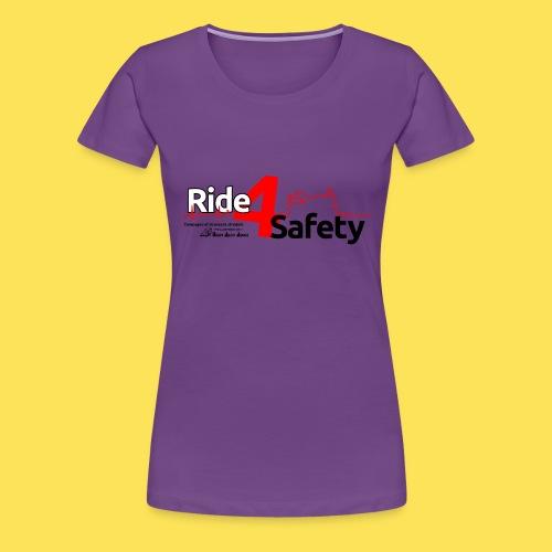 Ride4Safety - Maglietta Premium da donna