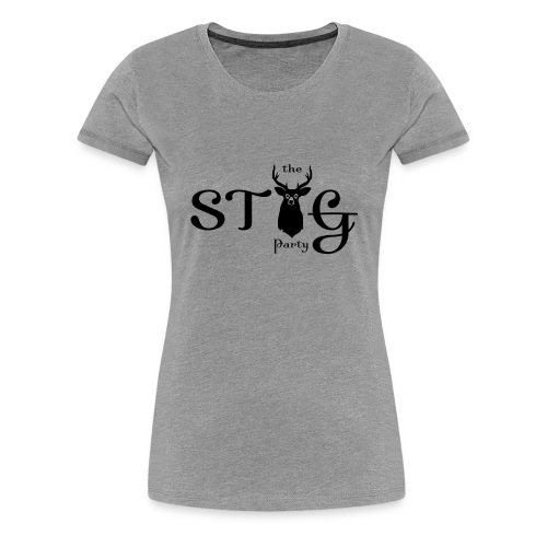 THE STAG PARTY - Women's Premium T-Shirt