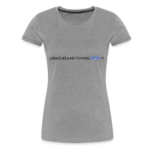 StarshipTroopers - T-shirt Premium Femme