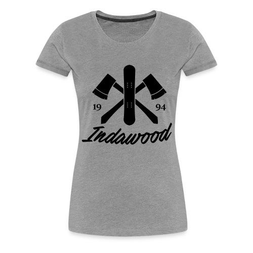 Indawood halux hans - Vrouwen Premium T-shirt