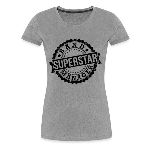 Superstar Band Manager Logo Black - Women's Premium T-Shirt