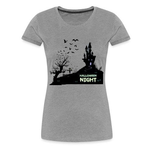 HALLOWEEN NIGHT - Frauen Premium T-Shirt