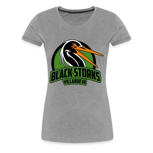 Camiseta Basica BlackStorks - Camiseta premium mujer