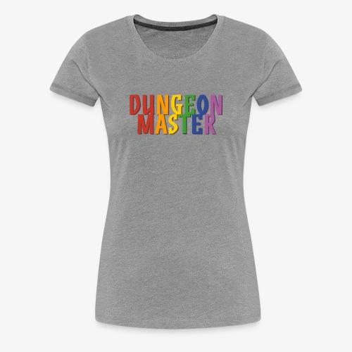 Dungeon Master Pride (Rainbow) - Women's Premium T-Shirt