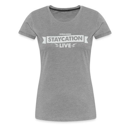 Staycation Live logo - Women's Premium T-Shirt
