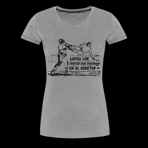 Luchadores - Premium-T-shirt dam