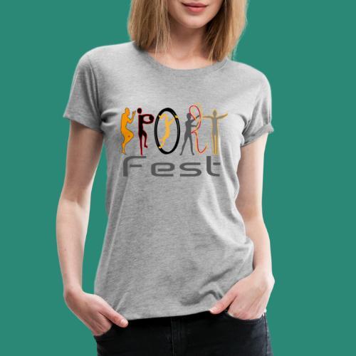 sportfest - Frauen Premium T-Shirt
