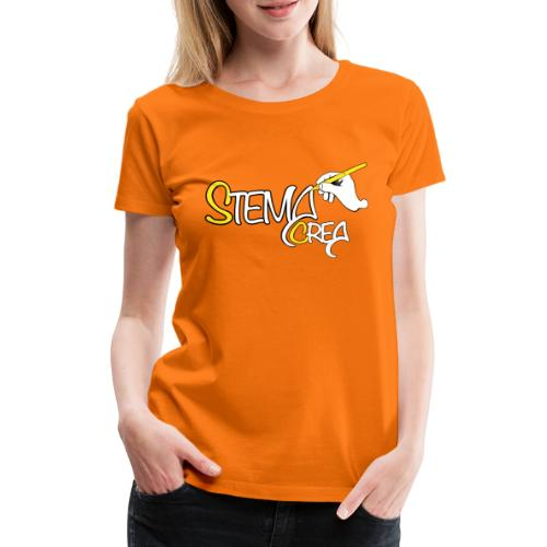Stema CREA Logo - T-shirt Premium Femme