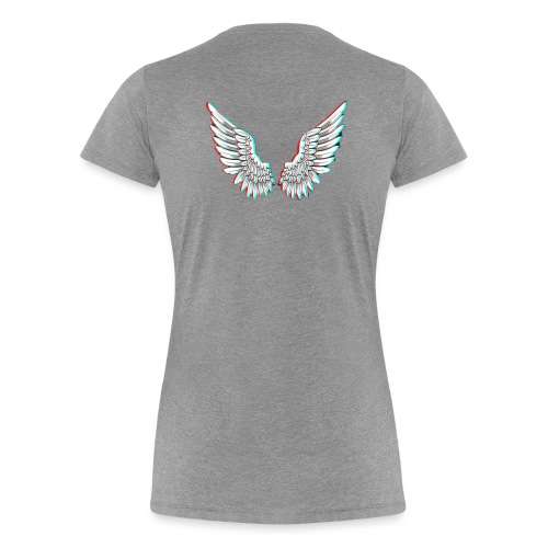 Angelic Wings Trainer Jacket - Frauen Premium T-Shirt